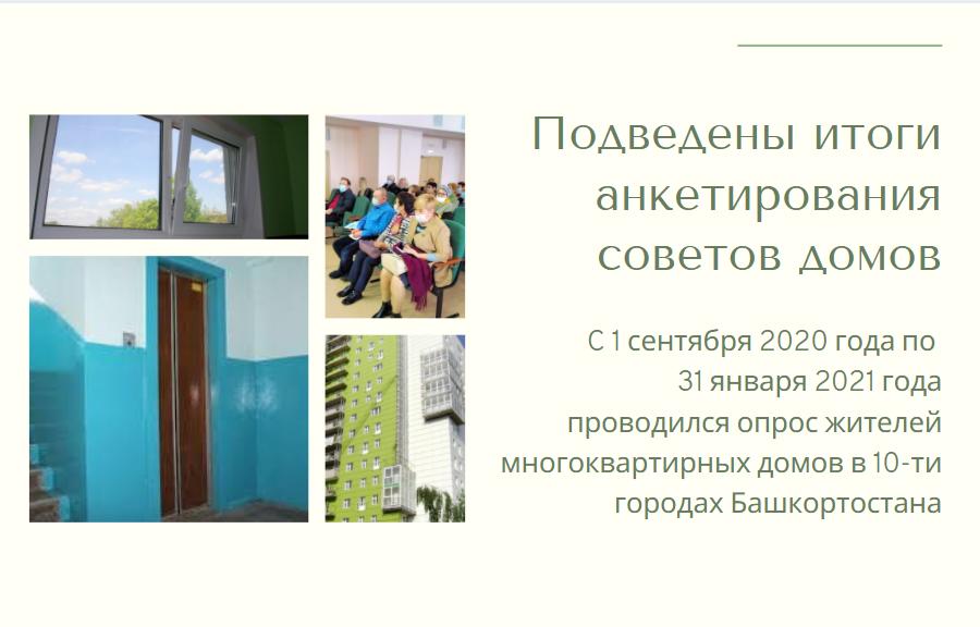 Подведены итоги анкетирования советов домов в Башкортостане post thumbnail image